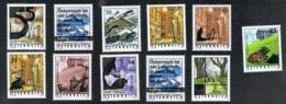 2002 - 07  Lot Gültige Frankaturware Xx MNH - 1945-.... 2. Republik