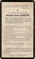 Duynkercke, Everbergh, Everberg, 1922, Emma Cordier - Images Religieuses