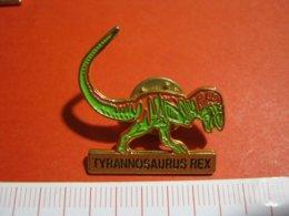 MED.1 PIN'S PIN PINS - ITALIA 1990 DINOSAURO TYRANNOSAURUS REX - Animali