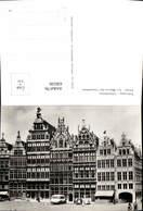 636339,Foto Ak Antwerpen Anvers Gildenhuizen Les Maisons Des Corporations Bus Belgium - Ohne Zuordnung