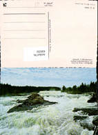 636332,Storforsen I Pite älv Vattenfall Wasserfall Stromschnellen Sweden - Schweden