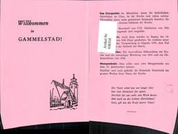 636318,Klappbar Gammelstad Kirche Informationsblatt Sweden - Schweden