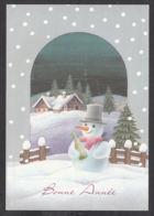 98008/ NOUVEL AN, Bonhomme De Neige - Neujahr