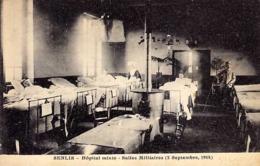 60 - SENLIS - Hôpital Mixte - Salles Militaires - (  Septembre 1914 ) - Senlis