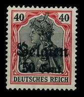 BES 1WK LP BELGIEN Nr 20bII Ungebraucht X77B3D6 - Occupation 1914-18