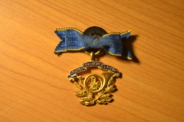 Médaille Ancien Combattants Chasseurs Guerre 1870 1914 Poilu. - Medallas Y Condecoraciones