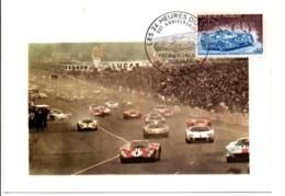 CARTE MAXIMUM 1973 50 ANS DES 24 HEURES DU MANS - 1970-79