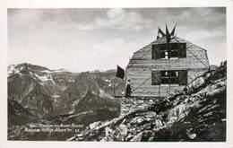 """/ CPSM FRANCE 74 """"Massif Du Mont Blanc, Nouveau Refuge Albert 1er"""" / ALPINISME - Chamonix-Mont-Blanc"""