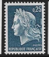 Yvert 1535 Maury 1535 - 25 C Bleu - ** - France