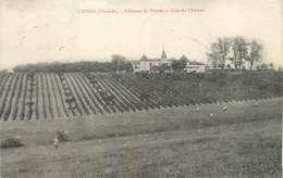 """/ CPA FRANCE 33 """"Capian, Château Du Peyrat"""" - France"""