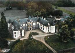 """/ CPSM FRANCE 89 """"Perreux, Château De Montigny Et Le Parc"""" - Autres Communes"""