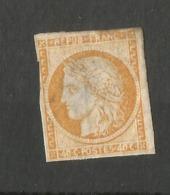 Timbre Neuf - N° 5 - 40 Centimes Orange -  Cérès - 1849-1850 Cérès
