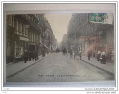PARIS 10 RUE DE HAUTEVILLE MARCHAND DE CARTES POSTALES - Arrondissement: 10
