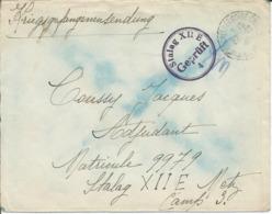 Précurseur  Prisonnier De Guerre 1941 Franchise Postale Stalag XII E METZ + Censure Kriegsgefangenenpost - Marcophilie (Lettres)