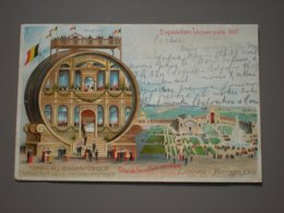 BRUXELLES - LAEKEN - EXPOSITION UNIVERSELLE 1897 - TONNEAU GIGANTESQUE - Feiern, Ereignisse