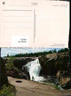 636325,Gamla Fallet Med Grytan Storforsen Pite älv Wasserfall Stromschnellen Sweden - Schweden