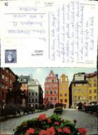 636322,Stockholm Stortorget Old Town Sweden - Schweden