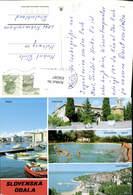 636587,Mehrbild Ak Piran Ankaran Belvedere Izola Portoroz Boote Slovenia - Slowenien