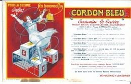 "Buvard Publicitaire "" Cordon Bleu"" - Food"