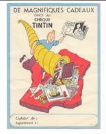 Ancien Protége Cahier Tintin - Protège-cahiers