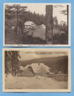 57 DABO - 2 CARTES - MAISON FORESTIERE DU SPITZBERG - ONF - VOIR ZOOM - 2 CARTES - Dabo