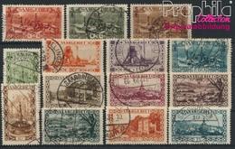 Saarland 108-121 (kompl.Ausg.) Gestempelt 1926 Landschaften (8894278 - Gebraucht