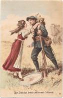 Guerre 14/18 - Les Diables Bleus Delivrent L'Alsace - Chasseur Alpin - Guerre 1914-18