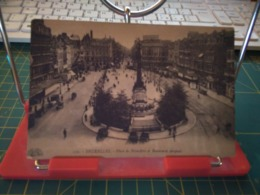 149263  Bruxelles Place De Brouckere Et Boulevard Anspach - Piazze