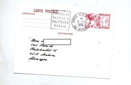Carte Postale 2.00 Philex Dunkerque Flamme Riquewihr Musee Machine Daguin - Ganzsachen