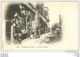 14 VILLERS-SUR-MER. Antiquités Rue Du Casino Vers 1900 - Villers Sur Mer