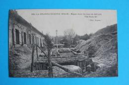 CPA Carte Postale Ancienne SOUAIN Boyau Dans Une Rue 14-16 - Soldat Dans Une Tranchée - Landkaarten