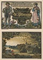 Billets De Nécessité Allemand 1921, 40 Pfennig - 1918-1933: Weimarer Republik