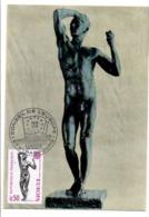 CARTE MAXIMUM 1974 EUROPA STRASBOURG - 1970-79