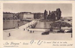 "1936-Svizzera Cartolina Diretta In Italia ""Les Bergues Geneve"" - United States"