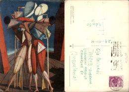 GIORGIO DE CHIRICO PAINTING POSTCARD - Pintura & Cuadros
