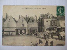 SDV1019- 37 - BLERE - PLACE DE L'EGLISE (CÔTE EST )   - - Bléré