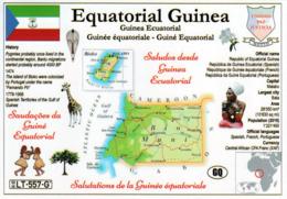 1 MAP Of Equatorial Guinea * Landkarte Von Äquatorial Guinea, Flagge Und Weiteren Informationen Zum Land * - Landkaarten