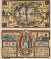 Billets De Nécessité Allemand 1921, 50 Pfennig Saint Nicolas - 1918-1933: Weimarer Republik