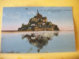 50 7720 CPA COLORISEE 1928 - 50 MONT ST MICHEL. VUE GENERALE. GENERAL VIEW. EDIT. J. P. N° 22 - Le Mont Saint Michel
