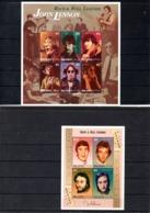 Maldivas Nº 2085-90 + H.B. 36  John Lennon, Series Completa En Nuevo 16 € - Music