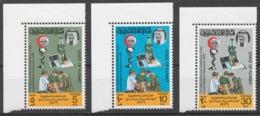 Kuwait 1976 Mi# 666-68** KUWAIT MEDICAL ASSOCIATION - Kuwait