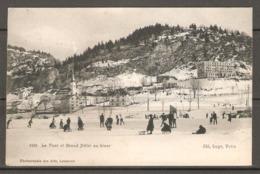 Carte P De 1908 ( Le Pont / Grand Hôtel En Hiver ) - VD Vaud
