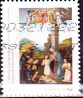 Kanada - Anbetung Der Hirten; Gemälde Von Tommaso Di Stefano Lunetti (MiNr: 3565) 2017 - Gest Used Obl - 1952-.... Reign Of Elizabeth II