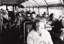 Autobus : Intérieur De Car : Avec Voyageurs :à Définir ( Format 13cm X 9cm ) - Auto's
