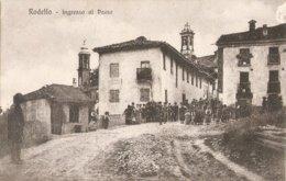 220/FP/19 - EXTRA - RODELLO (CUNEO) - Entrata Al Paese - Cuneo