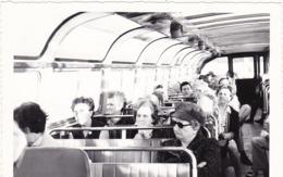 Autobus : Intérieur De Car : Avec Voyageurs : à Définir ( Format 13cm X 9cm ) - Auto's