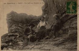 74 - PASSY - Une Halte Aux Escaliers De Platé - Passy