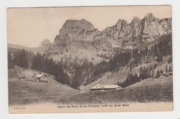 AB587 - SUISSE - Dents De Ruth Et De Savigny, Vues Du Gros Mont - FR Fribourg
