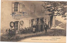 01 MOGNENEINS - Maison Cartal - Marchand De Vélos - Animée - France
