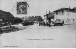 LA COTE SAINT ANDRE (Isère) - Place Hector Berlioz. Edition Charvat. Circulée En 1911. Bon état. - La Côte-Saint-André